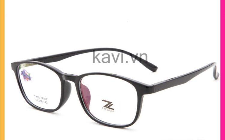 Top 5 mẫu gọng kính đen xưng bá thị trường 2021